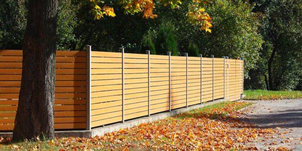 Soubassement de clôtures