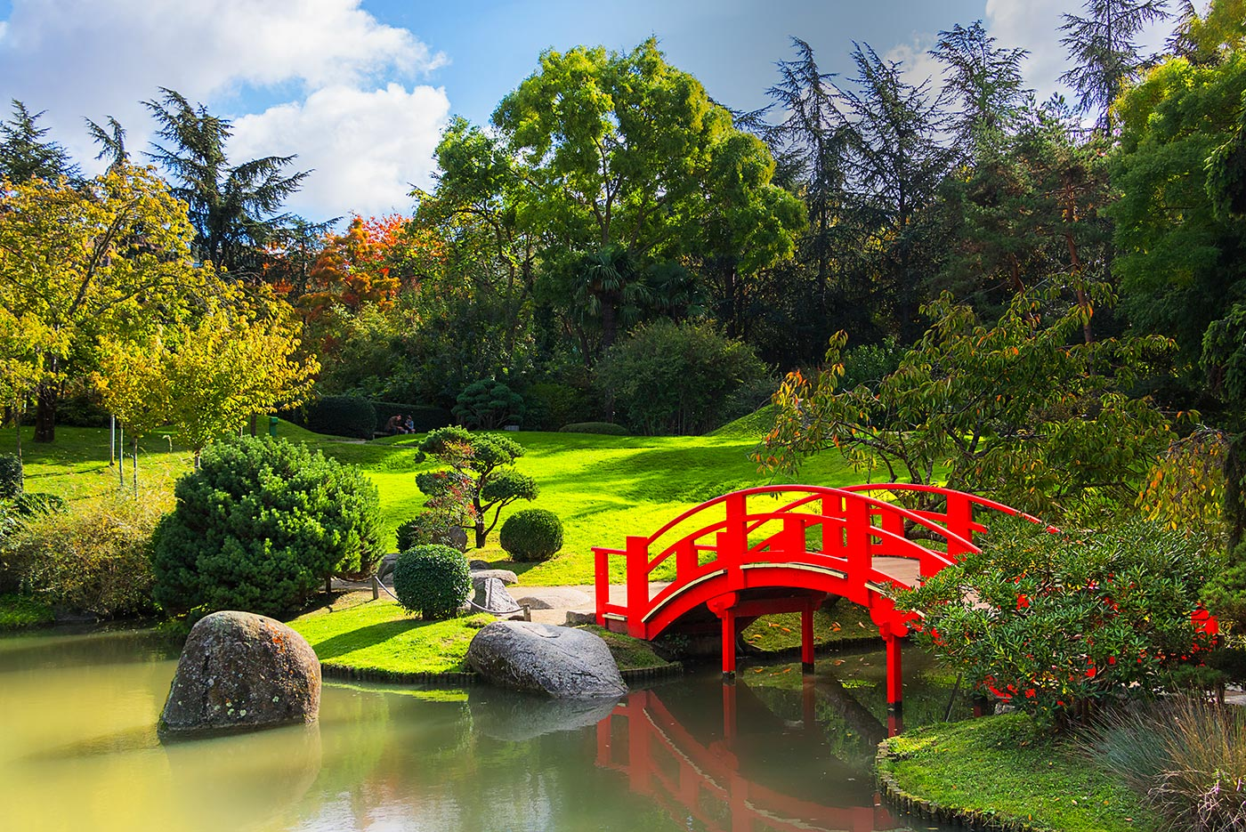 Jardin japonais de Toulouse