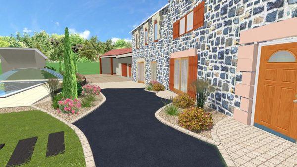 Plan de jardin, Clermont-Ferrand